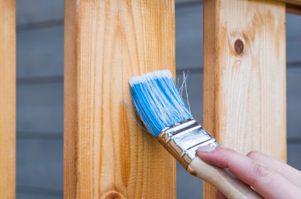 How to Paint on any Woodwork